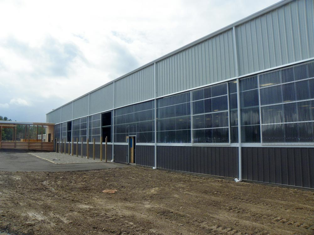 Caledon Equestrian Arena & Community Centre, Pre-Engineered Metal Building Systems by Comsteel Building Solutions