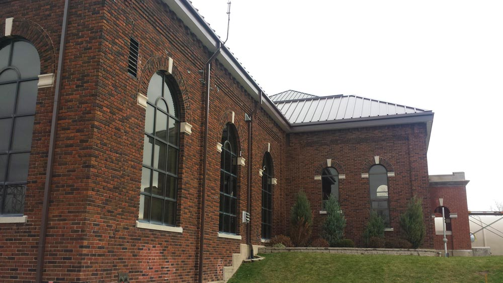 Decew Falls Water Treatment Plant , Pre-Engineered Metal Building Systems by Comsteel Building Solutions