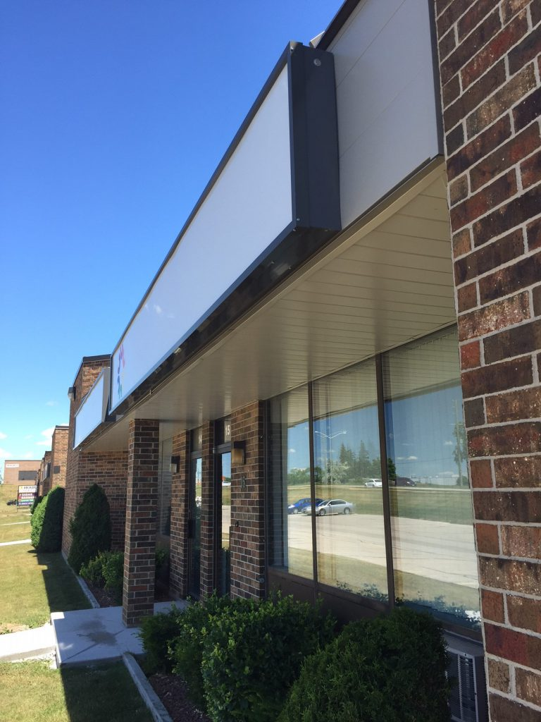 Cambridge Office Building Exteriors, Steel Siding Systems by Comsteel Building Solutions