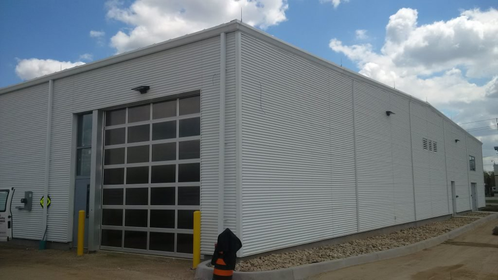 Perth County EMS, Pre-Engineered Metal Building Systems by Comsteel Building Solutions
