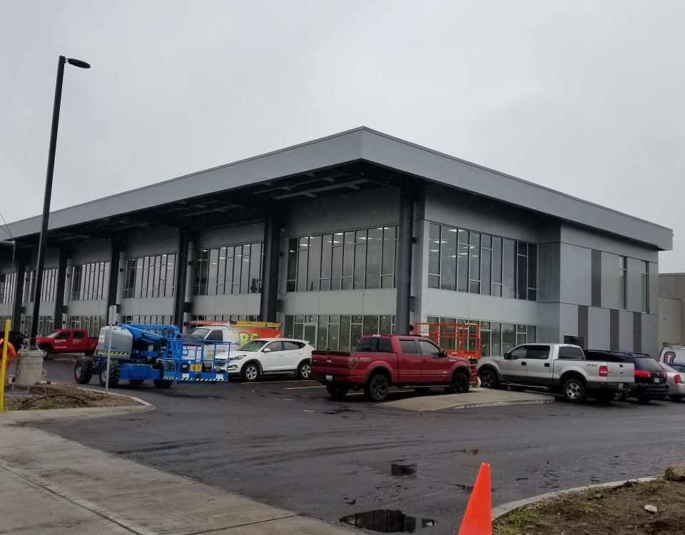 Comsteel Building Solutions - 2085 Shirley Drive - Pre-Engineered Metal Building System