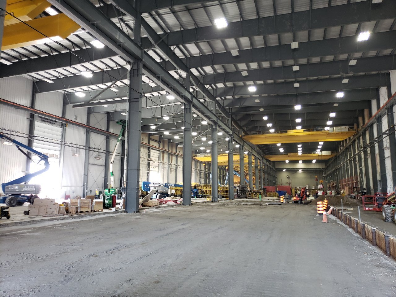 Comsteel Building Solutions - Decast Plant Addition - Pre-engineered Metal Building Systems