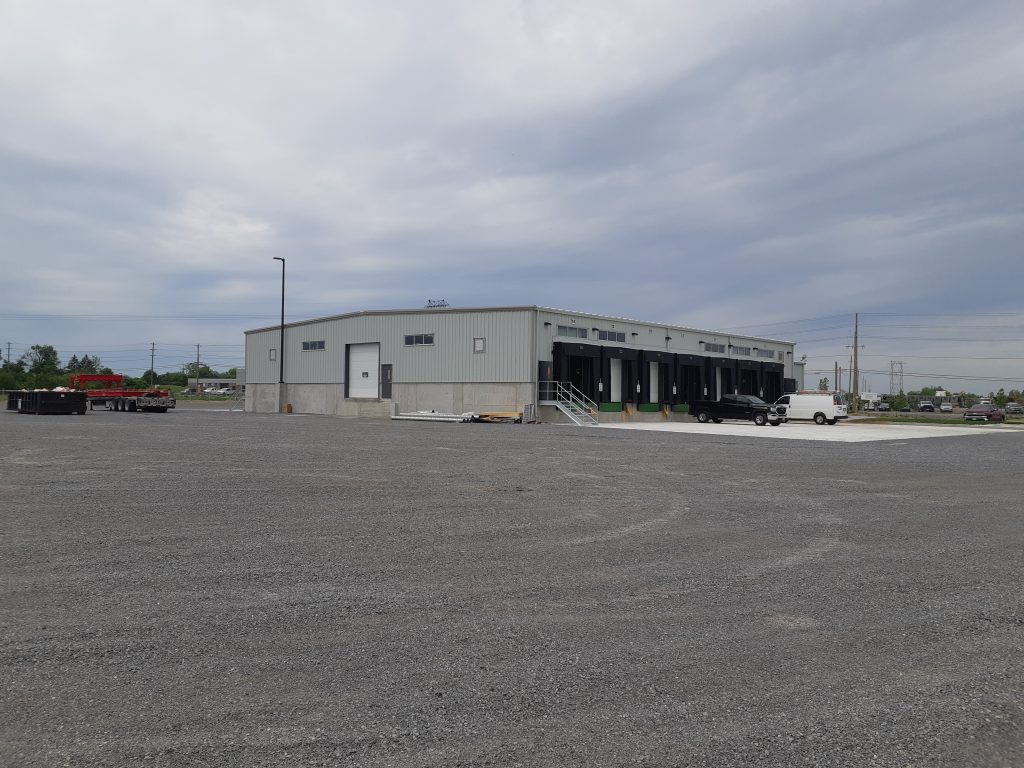 Comsteel Building Solutions - Manitoulin Transport - Pre-Engineered Metal Building System