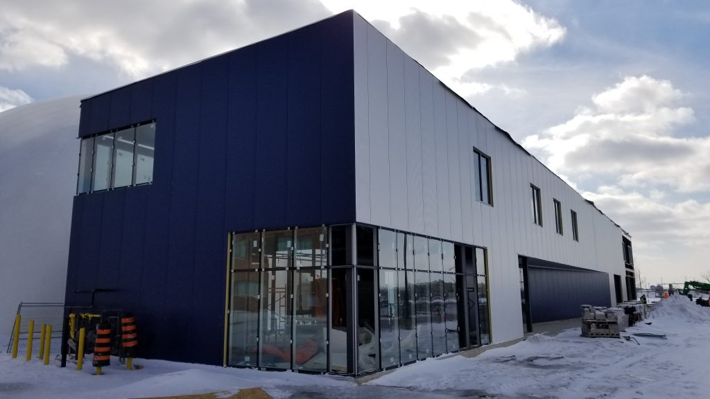 Comsteel Building Solutions - Mississauga Stadium Clubhouse - Insulated Metal Panel, Steel Deck