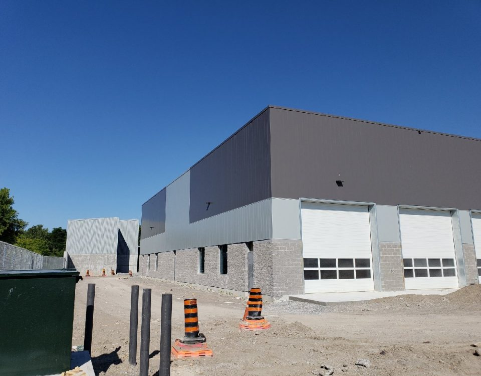 Comsteel Building Solutions - Peterborough Operations Centre - Steel Roofing, Steel Siding