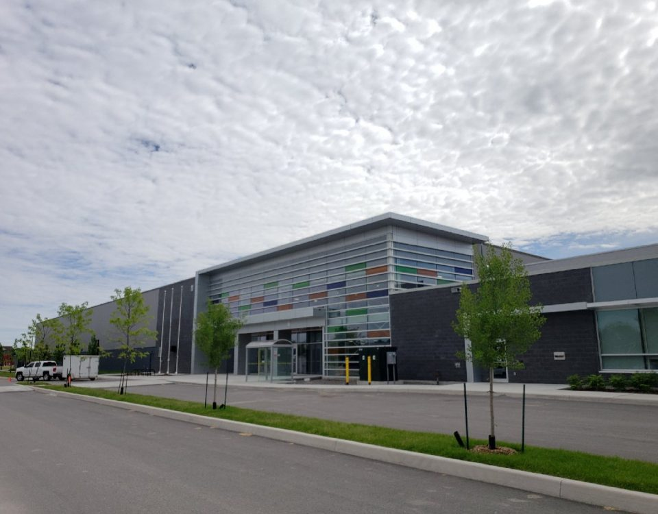 Comsteel Building Solutions - West Lincoln Multi-Use Recreation Centre - Pre-engineered Metal Building Systems
