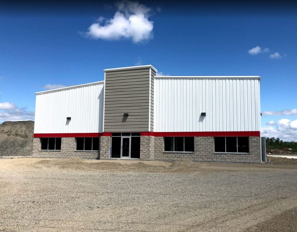 Comsteel Building Solutions - Weber Supply Sudbury - Pre-Engineered Metal Building System