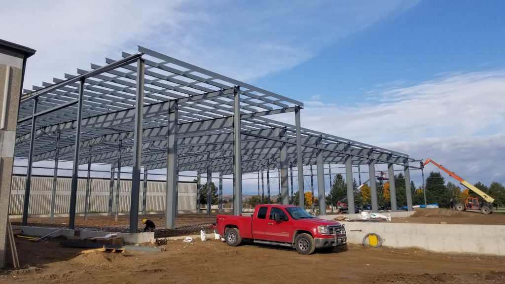 Comsteel Building Solutions - Bay Growers Clarksburg - Pre-Engineered Metal Building System