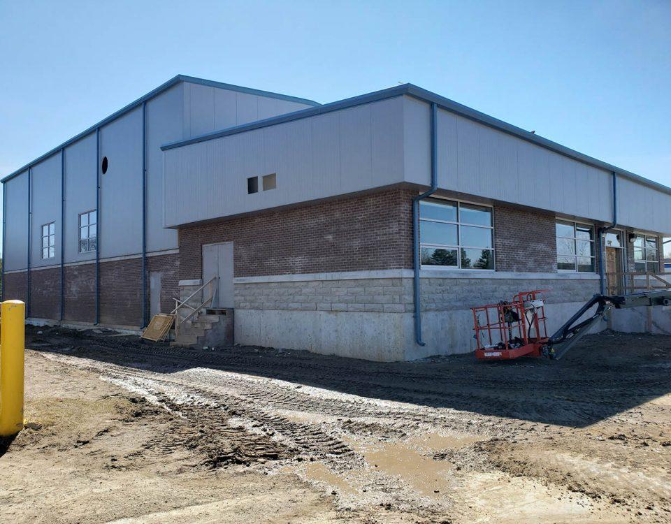 Comsteel Building Solutions - Hespeler WWTP Cambridge - Pre-Engineered Metal Building System