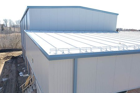 Steel roofing systems - Comsteel Building Solutions